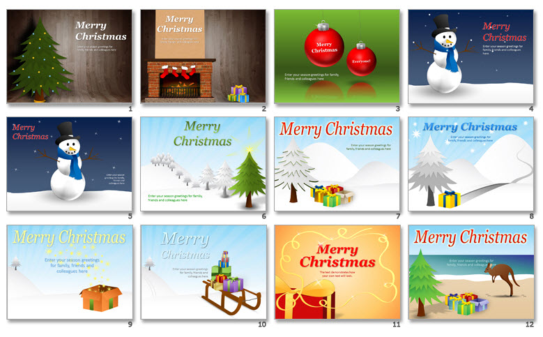 download free christmas powerpoint templates. Black Bedroom Furniture Sets. Home Design Ideas