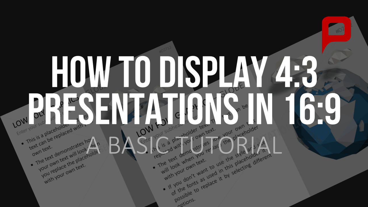 Tutorial  How To Display 4 3 Powerpoint Presentations In
