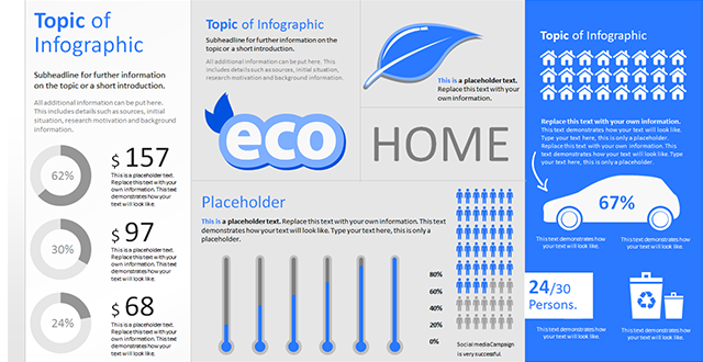 compact knowledge: infographics in powerpoint presentations, Powerpoint templates