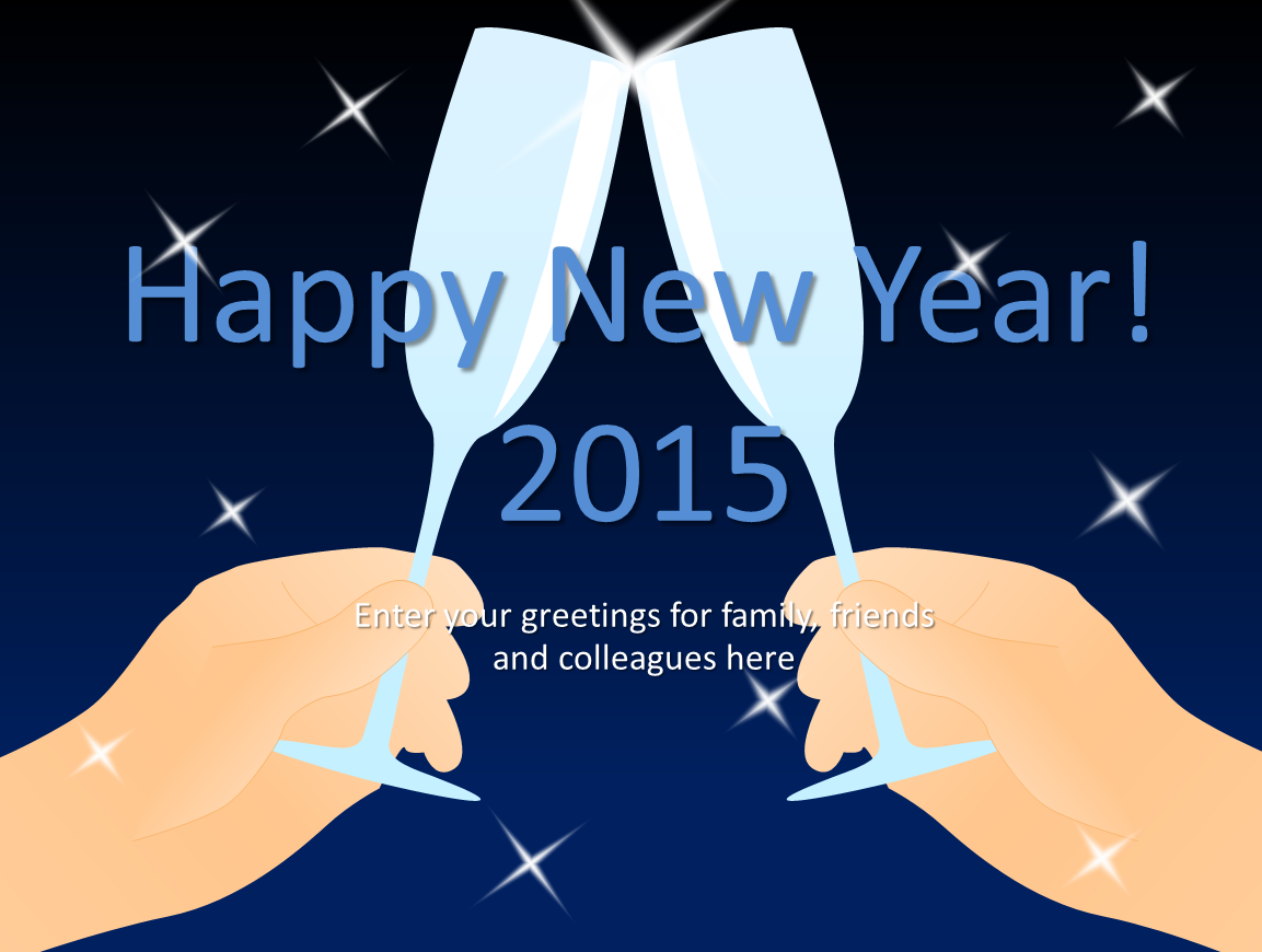 PowerPoint Templates New Years Eve