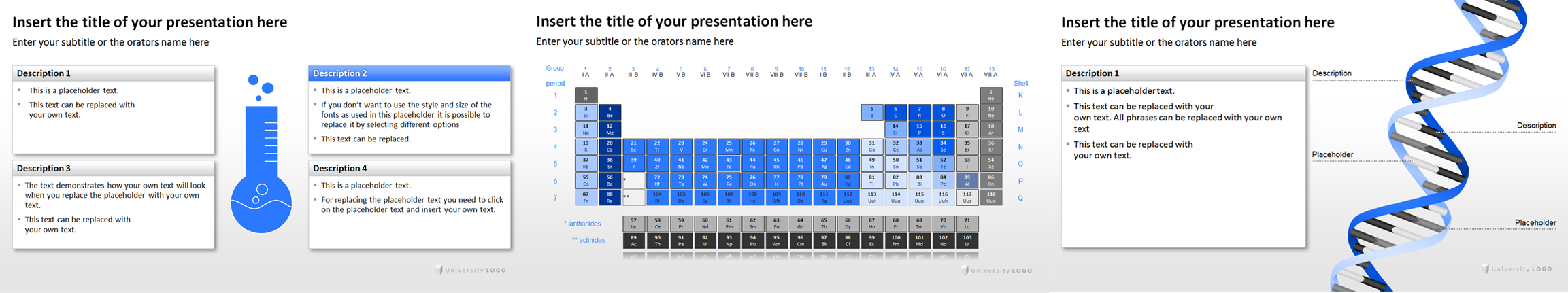 scientific presentation powerpoint template image collections, Presentation templates