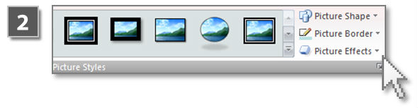 PowerPoint 3D effects for images (step 2)