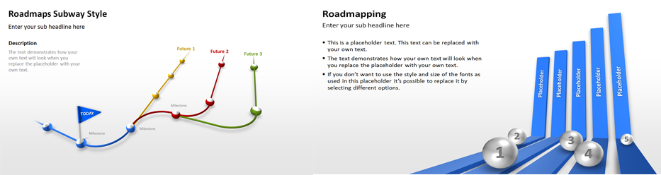 Road Maps PowerPoint Templates