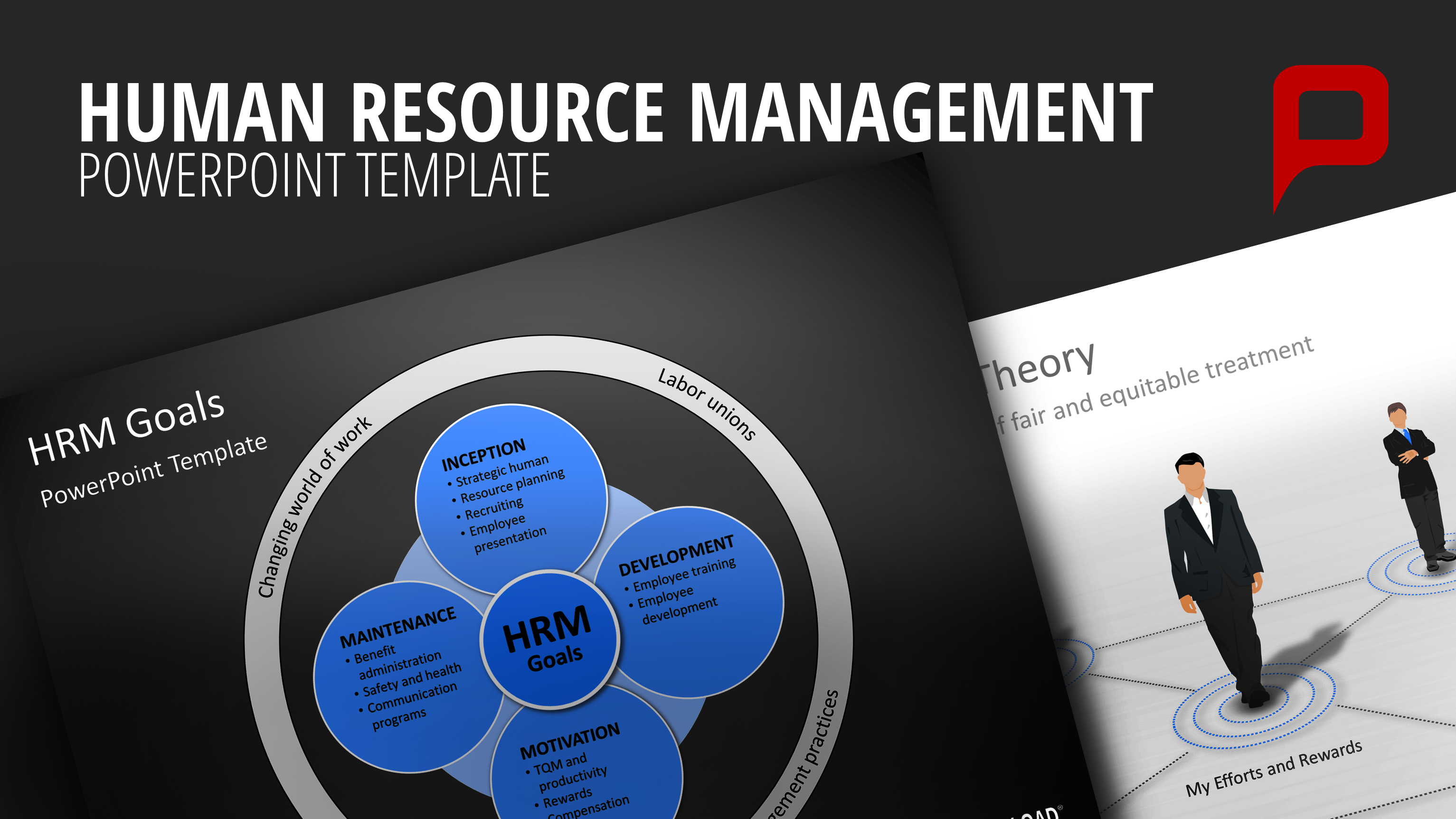 human capital planning template - effective human resource management with powerpoint
