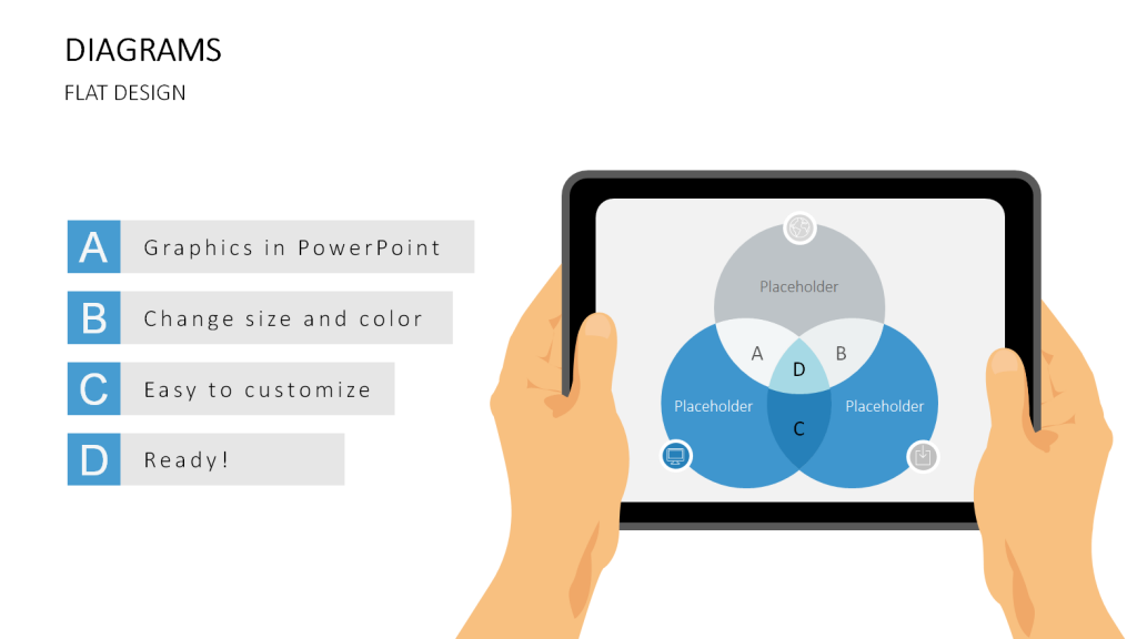 upgrade your presentation with flat design graphics, Powerpoint templates