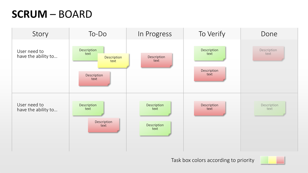 scrum agile project management powerpoint