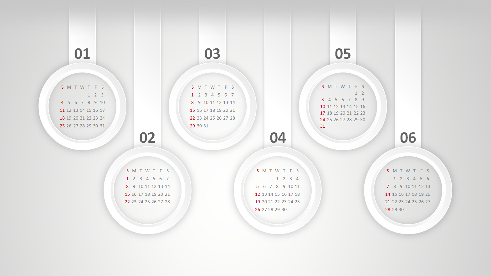Powerpoint calendar the perfect start for 2015 presentationload powerpoint calendar template 2015 toneelgroepblik Gallery