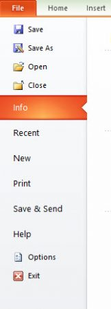 save as option in powerpoint