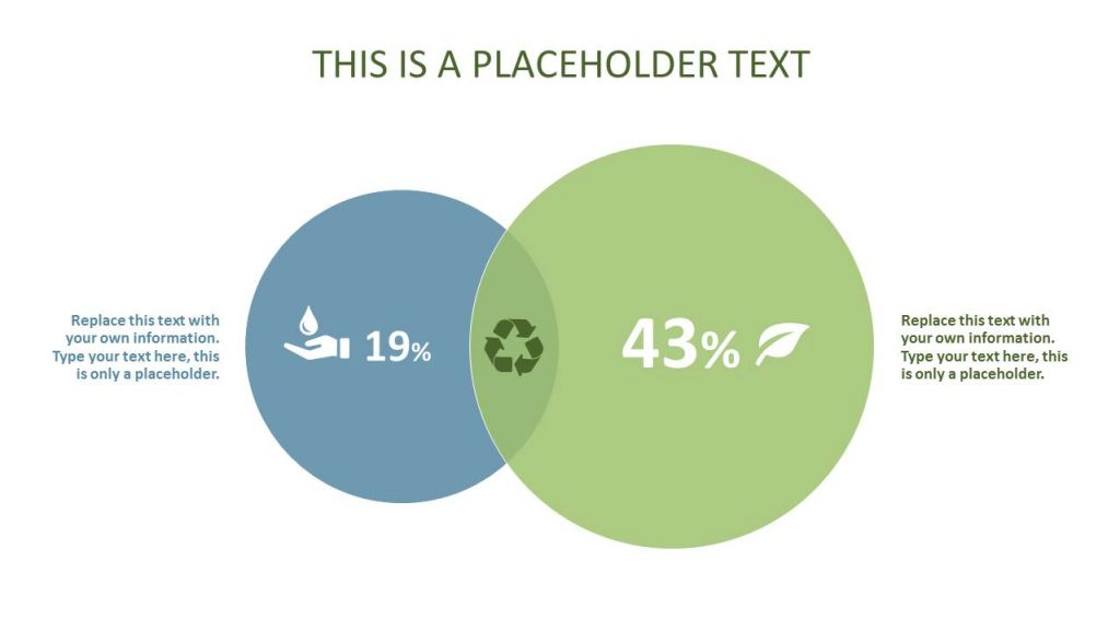 Findings and comparisons are visualized with text in green circles.